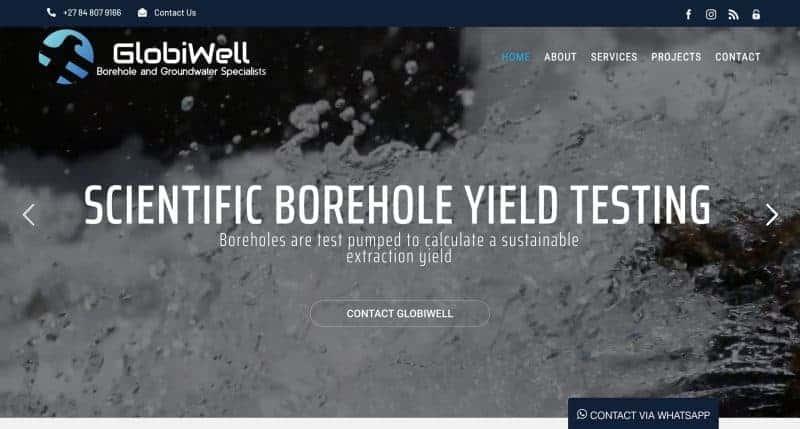 borehole-website-design