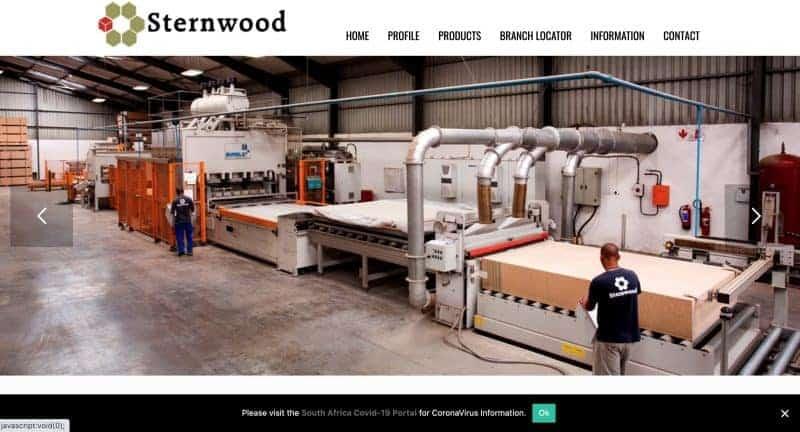manufacture website design