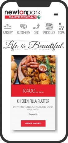 Online Shop Website Design Port Elizabeth