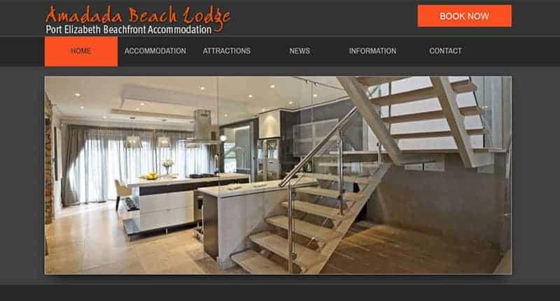 beach-lodge-website-design