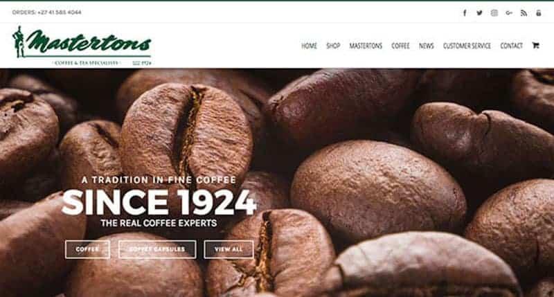 coffee-website-design