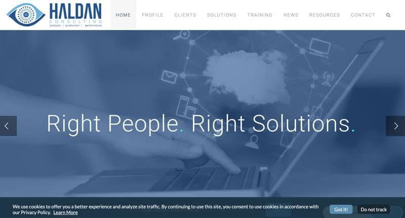 consulting-training-website-design