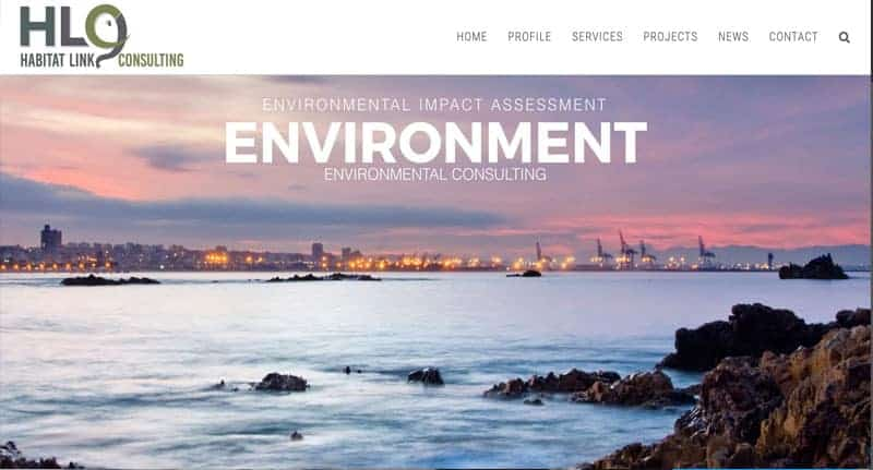 Environmental Consulting Website Design Services