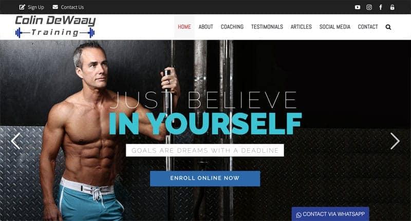 fitness-instructor-website-design