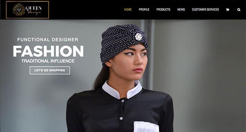 online-fashion-website-design