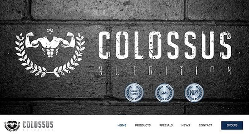 suppliment-website-design